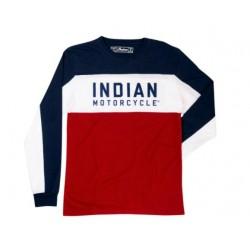 INDIAN T SHIRT A MANICA LUNGA FTR 286896909 TG. XL