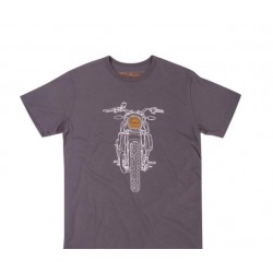 T SHIRT DONNA INDIAN MOTORCYCLE FTR LOGO TG.S